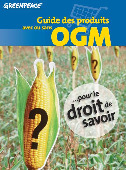 Greenpeace - Guide OGM